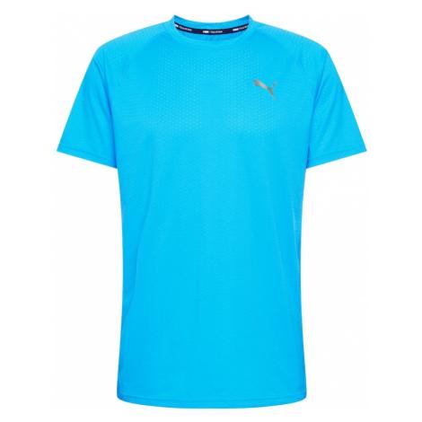 PUMA Koszulka funkcyjna aqua / srebrno-szary