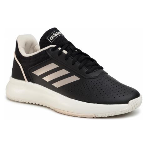 Buty adidas - Courtsmash EG4204 Cblack/Cblack/Cblack