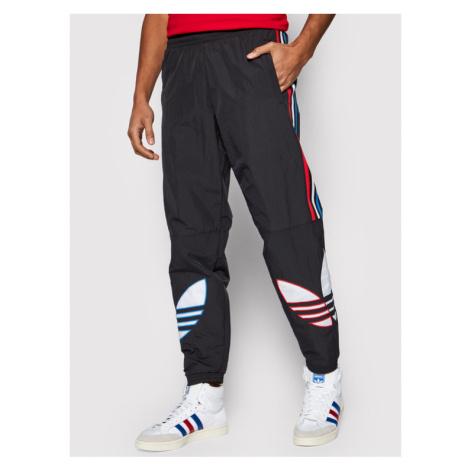 Adidas Spodnie dresowe adicolor Tricolor Tp GN3577 Czarny Regular Fit