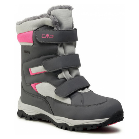 CMP Śniegowce Kids Hexis Snow Boot Wp 30Q4634 Szary