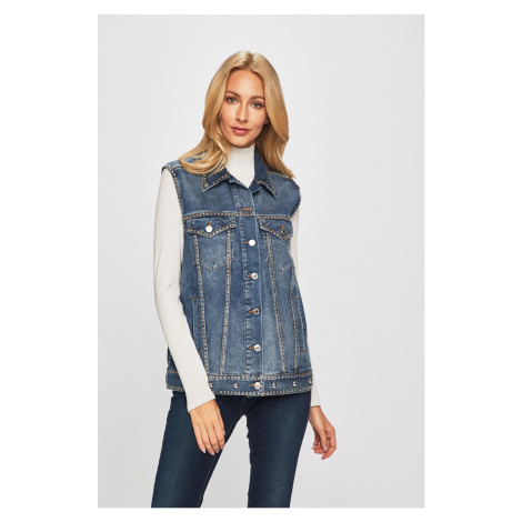 Guess Jeans - Kamizelka jeansowa