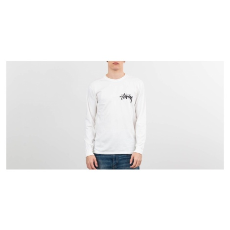 Stüssy Stock Pig. Dyed Longsleeve Tee Natural Stussy