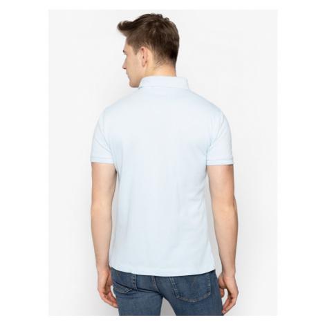 Trussardi Jeans Polo 52T00349 Niebieski Regular Fit