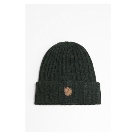 Czapka Fjallraven Byron Hat 388 Dark Oliwe Fjällräven
