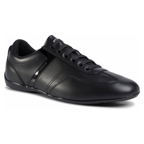 Sneakersy EMPORIO ARMANI - X4C575 XL473 A083 Black/Black
