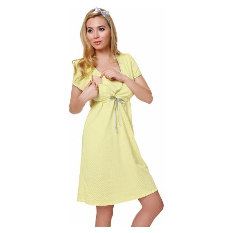 Damska bielizna ciążowa Felicita yellow Italian Fashion