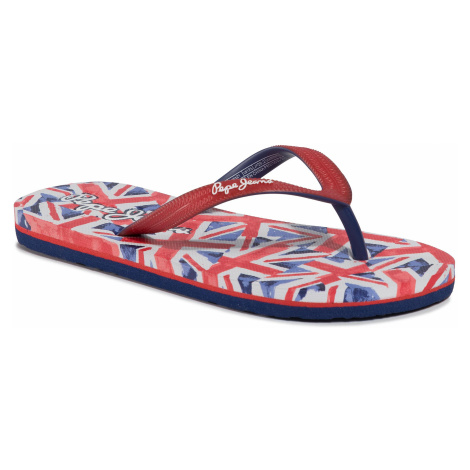 Japonki PEPE JEANS - Dorset Beach PBS70033 Red 255