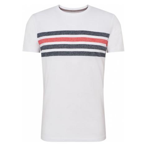 ESPRIT Koszulka 'SG-079EE2K006' niebieski / czerwony / biały