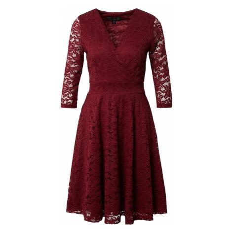 Mela London Sukienka koktajlowa 'DELICATE' burgund