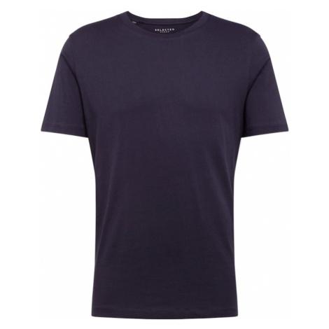 SELECTED HOMME Koszulka 'THEPERFECT' ciemny niebieski