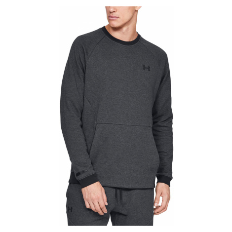 Under Armour Unstoppable Double Knit Bluza Czarny Szary