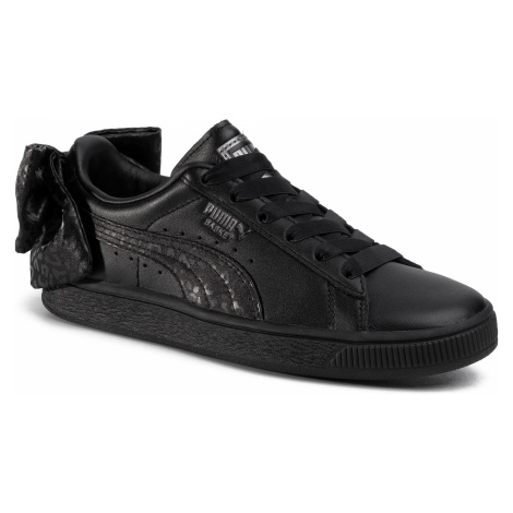 Sneakersy PUMA - Basket Bow Animal Wn's 367828 02 Puma Black/Puma Aged Silver