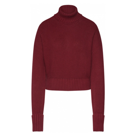 ABOUT YOU Limited Sweter 'Elena' bordowy