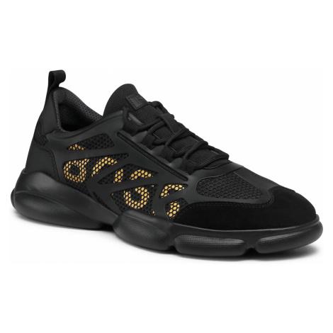 Sneakersy BOSS - Rapid 50452037 10235009 01 Black 001 Hugo Boss