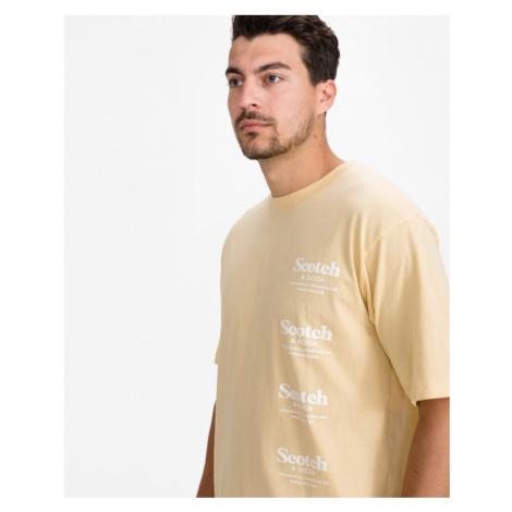 Scotch & Soda Koszulka Żółty