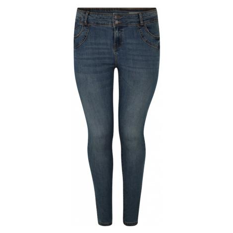 Vero Moda Curve Jeansy 'SEVEN' niebieski denim