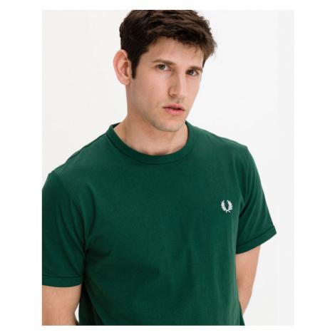 Fred Perry Ringer Koszulka Zielony