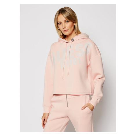 Guess Bluza W1RQ69 K7UW2 Różowy Relaxed Fit