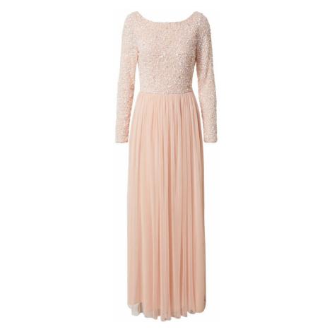 LACE & BEADS Suknia wieczorowa 'Carrey' różany / pudrowy