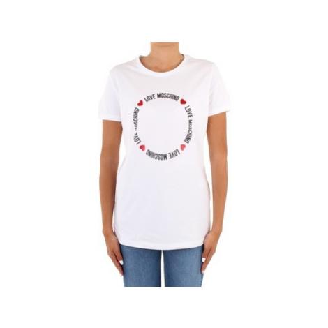 T-shirty z krótkim rękawem Love Moschino W4F73 67 E1951