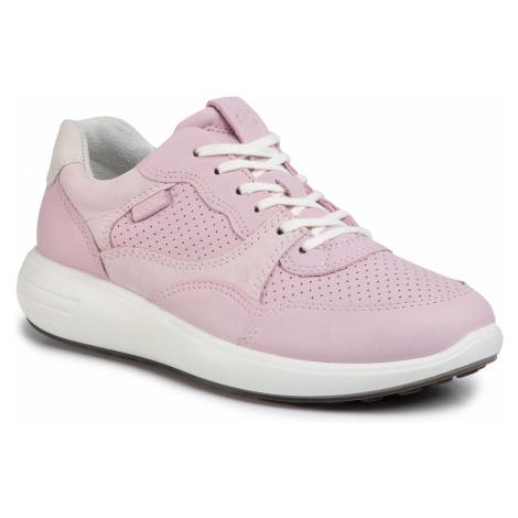 Sneakersy ECCO - Soft 7 Runner W 46061351725 Blossom Rose/Blossom Rose/Shadow White