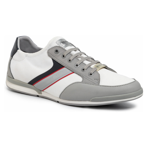 Sneakersy BOSS - Saturn 50428244 10226291 01 Open White 120 Hugo Boss