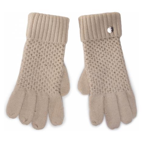 Rękawiczki Damskie LIU JO - Guanti Nido Dape 2F0023 M0300 Cappuccino 61310