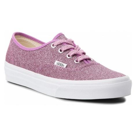 Tenisówki VANS - Authentic VN0A38EMU3U (Lurex Glitter) Pink/True
