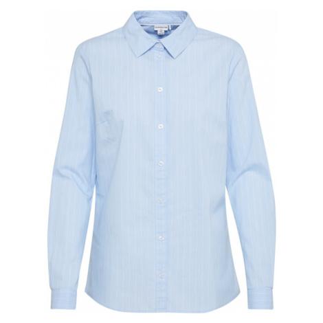 JACQUELINE de YONG Bluzka jasnoniebieski / biały