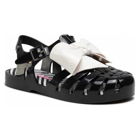 Sandały MELISSA - Possesion Print+Bar 33339 Black/White 51588