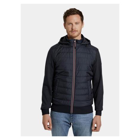 Granatowa pikowana kurtka męska Tom Tailor