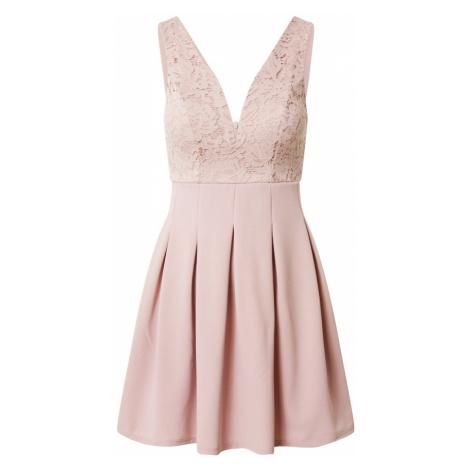 WAL G. Sukienka koktajlowa 'Dress' pudrowy