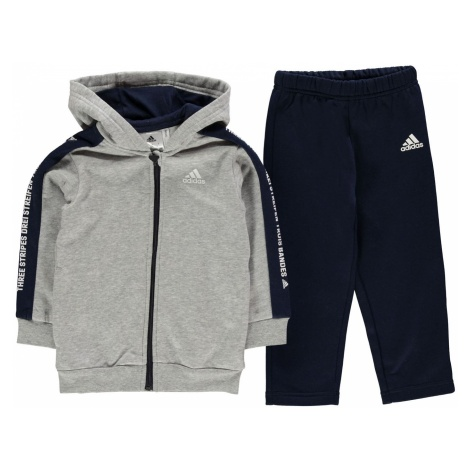 Adidas Tape Full Zip Tracksuit Infant Boys