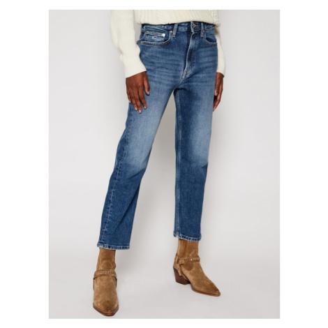 Tommy Jeans Jeansy Straight Leg Harper DW0DW09011 Niebieski Regular Fit Tommy Hilfiger