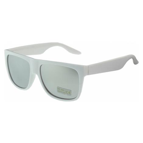 okulary Carofian C0645 - White/Silver Mirror