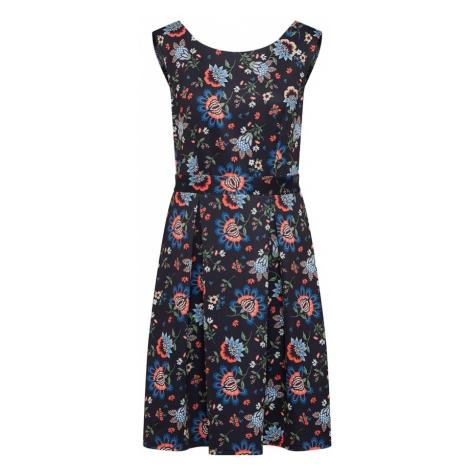 SET Sukienka niebieska noc / mieszane kolory