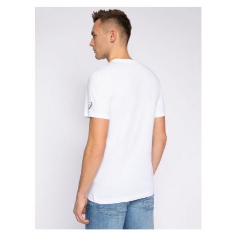 Asics T-Shirt Tokio Graphic Tee 2031B349 Biały Regular Fit