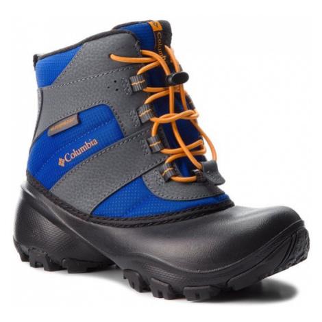 Columbia Śniegowce Childrens Rope Tow III Waterproof BC1322 Niebieski