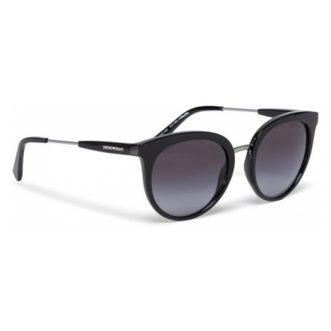 Emporio Armani Okulary przeciwsłoneczne 0EA4145 50018G Czarny