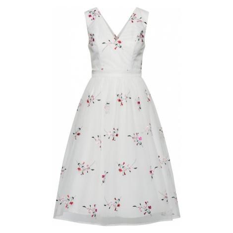Chi Chi London Sukienka koktajlowa różowy pudrowy / biały