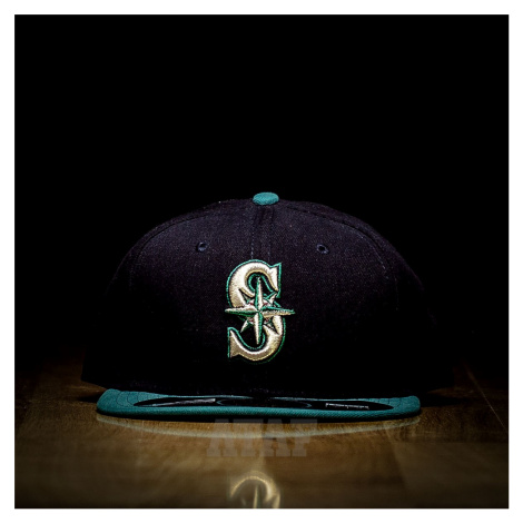 New Era 59Fifty Authentic Seattle Mariners Full Cap Blue