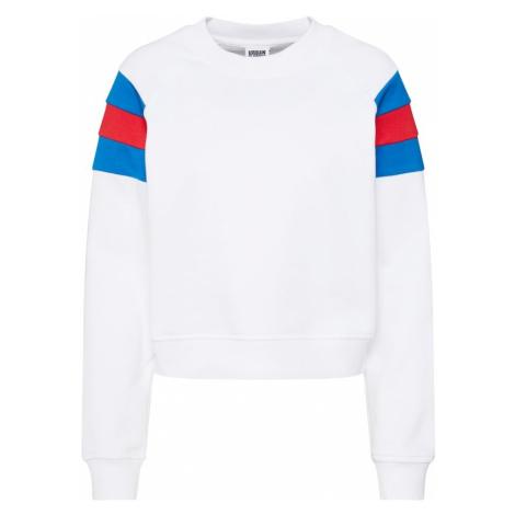Urban Classics Bluzka sportowa biały / niebieski / czerwony