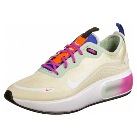 Nike Sportswear Trampki niskie 'Air Max Dia' szarobeżowy / biały / pastelowy zielony / fioletowy