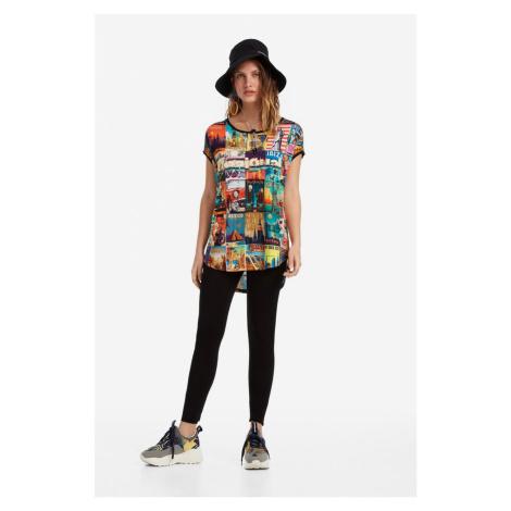 Women's t-shirt DESIGUAL PHOEBE