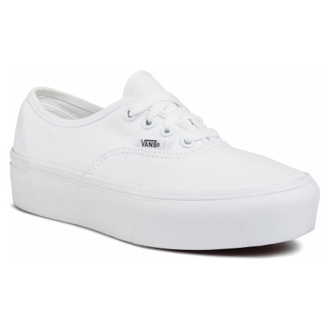 Tenisówki VANS - Authentic Platfor VN0A3AV8W001 True White