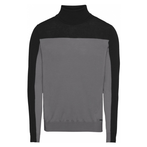 6d5e42b5ed822 BOSS Sweter 'Vallum 10211953 01' czarny Hugo Boss | Modisimo.pl