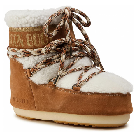Śniegowce MOON BOOT - Mars Shearling 14400900001 Whisky/Off White