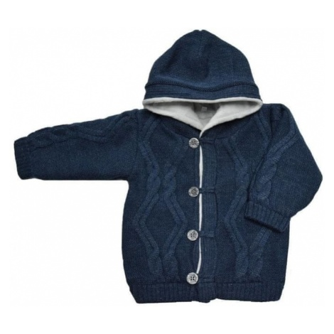 EKO sweter chłopięcy niebieski
