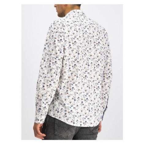 Pepe Jeans Koszula Heath PM306088 Biały Regular Fit