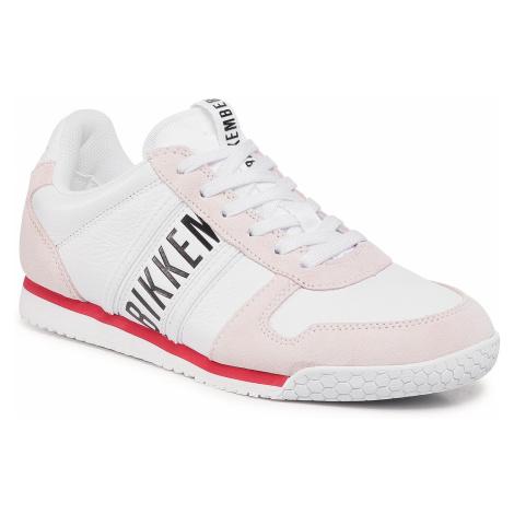 Sneakersy BIKKEMBERGS - Enricus B4BKM0135 White/Pompeian Red